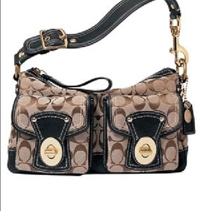 Coach Signature Legacy Shoulder Bag